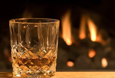 whiskyglas i present